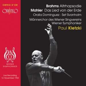 Brahms: Alto Rhapsody & Mahler: Das Lied von der Erde