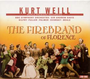 Weill, K: The Firebrand of Florence