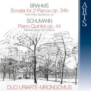 Brahms: Sonata for 2 pianos & Schumann: Piano Quintet
