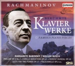 Rachmaninoff: Berühmte Klavierwerke