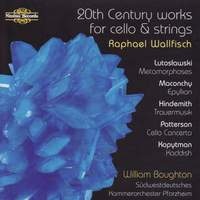 20th Century Works for Cello & Strings