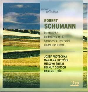Schumann: Dichterliebe, Op. 48, etc.