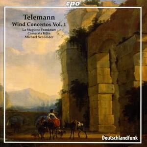 Telemann: Wind Concertos Volume 1