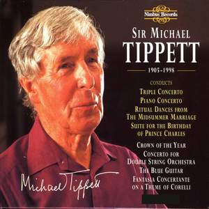 Sir Michael Tippett, 1905-1998: The Nimbus Recordings Product Image
