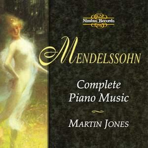 Mendelssohn: Complete Piano Music Product Image