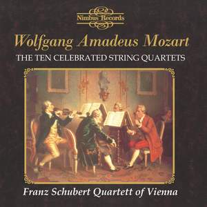 Mozart: The Ten Celebrated String Quartets Product Image
