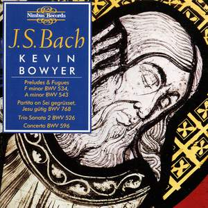 J.S. Bach: The Works for Organ Volume III Product Image