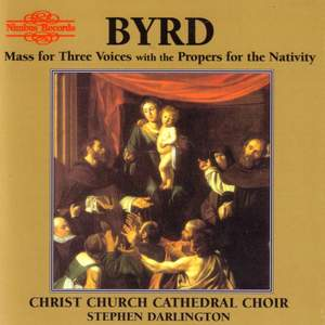 Byrd: Mass for three voices Product Image