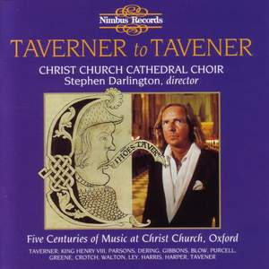 Taverner to Tavener
