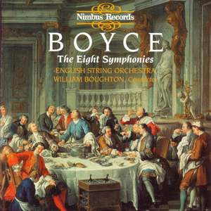 Boyce: Symphonies Nos. 1-8, Op. 2