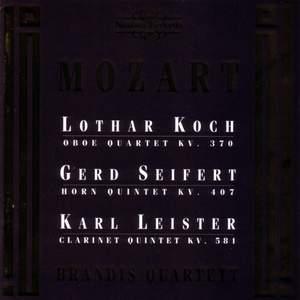 Mozart: Horn Quintet, Clarinet Quintet & Oboe Quartet