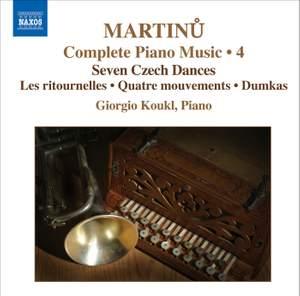 Martinu - Complete Piano Music Volume 4