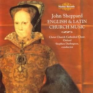 John Sheppard: English & Latin Church Music