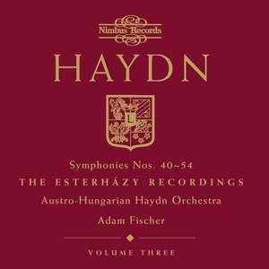 Haydn Symphonies Volume 3, Nos. 40-54 Product Image