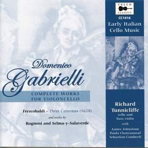Domenico Gabrielli: Complete Works for Violoncello
