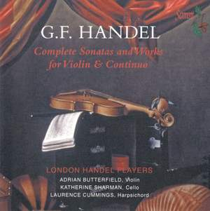 Handel - Complete Sonatas and Works for Violin & Continuo