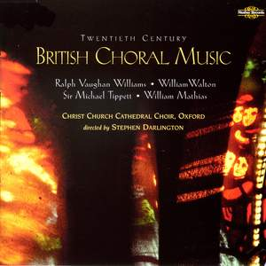 British Choral Music of the Twentieth Century Product Image
