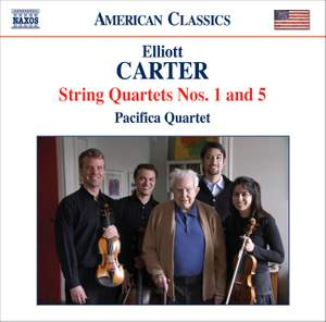 Elliott Carter - String Quartets Volume 1