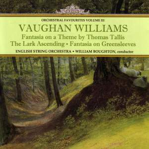 Orchestral Favourites Volume III - Vaughan Williams Product Image
