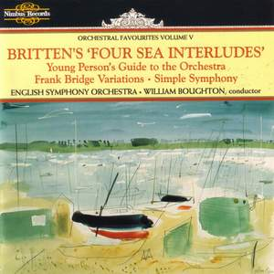 Orchestral Favourites Volume V - Britten's Four Sea Interludes