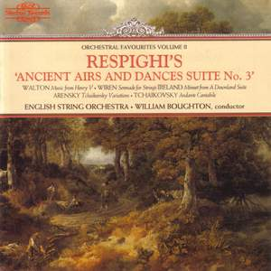 Orchestral Favourites Volume II - Respighi's Ancient Airs & Dances No. 3
