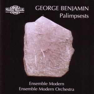 George Benjamin: Palimpsests Product Image