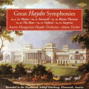 Great Haydn Symphonies - Famous Named Symphonies