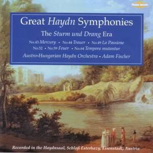 Great Haydn Symphonies - The Sturm und Drang Era Product Image