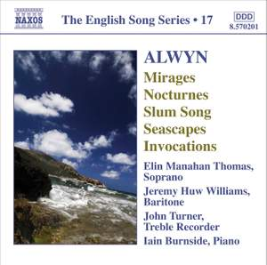 The English Song Series Volume 17 - Alwyn