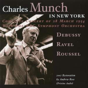 Charles Munch in New York