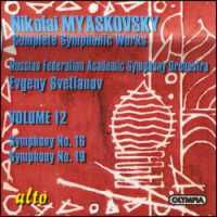 Myaskovsky - Complete Symphonic Works Volume 12