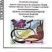 Edmundo Vasquez: Music for Guitar Ensemble