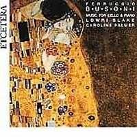 Busoni: Works for cello & piano