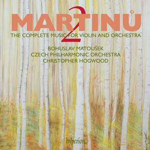 Martinu - The complete music for violin and orchestra Volume 2 Product Image