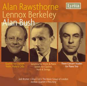 Rawsthorne, Berkeley & Bush: Chamber Music Product Image