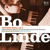 Bo Linde - Orchestral Works Volume 2