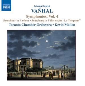 Vanhal - Symphonies, Vol 4