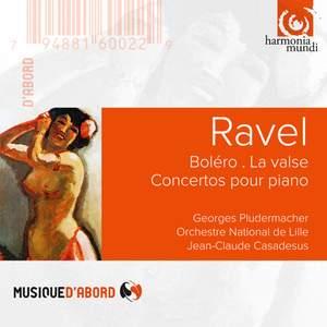 Ravel: Boléro, La valse, Concertos for piano