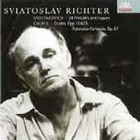 Sviatoslav Richter plays Chopin & Shostakovich