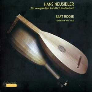 Neusidler, H: Ein newgeordent künstlich Lautenbuch