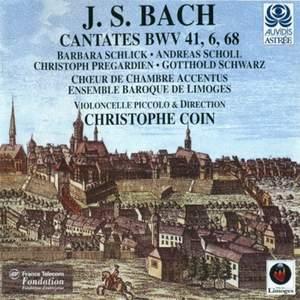 Bach, J S: Cantata BWV41 'Jesu, nun sei gepreiset', etc.