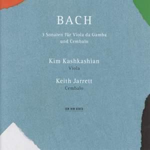 Bach, J S: Viola da Gamba Sonatas Nos. 1-3, BWV1027-1029 Product Image