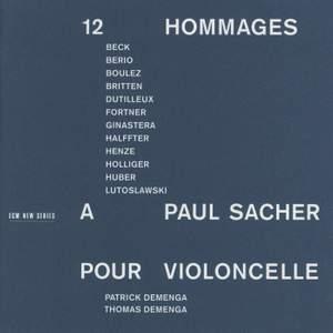 12 Hommages à Paul Sacher
