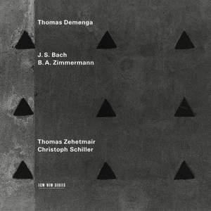 Bach: Cello Suite No. 2, Zimmermann: Sonatas for solo violin, viola & cello Product Image