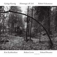 Kurtág & Schumann: Works for clarinet, viola & piano