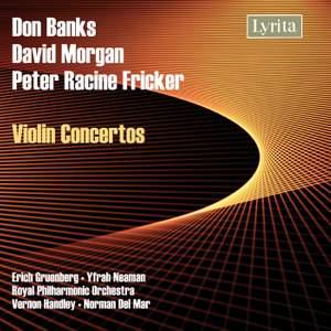 Fricker, Morgan & Banks - Violin Concertos Product Image
