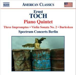 Toch - Piano Quintet