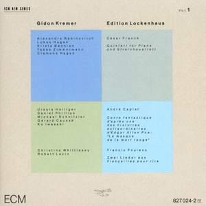 Franck, C: Piano Quintet in F minor, Op. 14, etc.