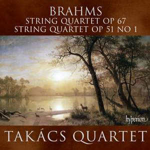 Brahms - String Quartets Nos. 1 & 3 Product Image