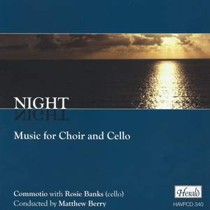 Night - Music for Choir and Cello Product Image